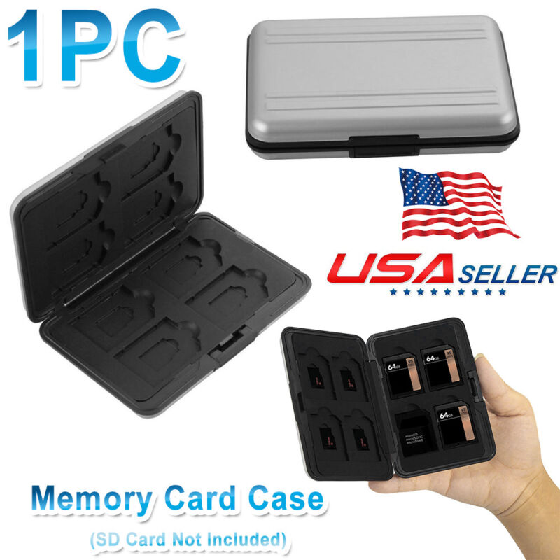 Quality Memory Card Wallet 16 Micro SD SDHC Protecter Storage Holder Pouch Case