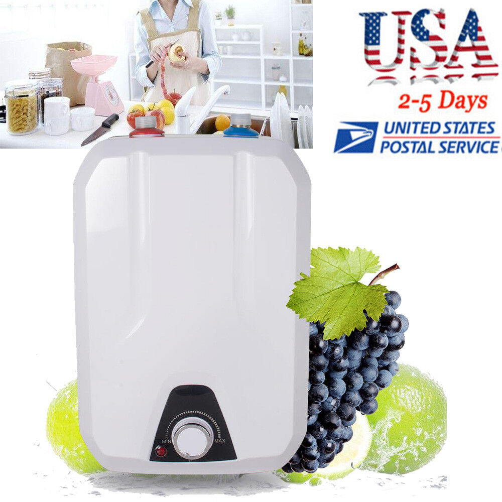NEWEST 8L Electric Tankless Hot Water Heater Home Kitchen Ba