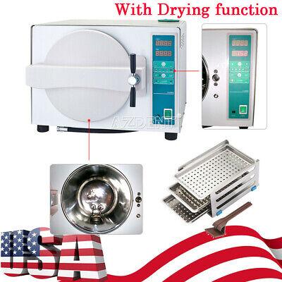 18l Autoclave Steam Sterilizer Pressure Sterilization W Drying Function