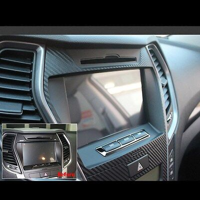 Decal Sticker Black Navigation GPS Molding For Hyundai Santa fe Sport 2013~2015
