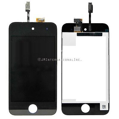 Black iPod 4th Gen LCD & Touch Screen Assembly Frame Digitizer Compatible  - Ipod 4th Generation Screen