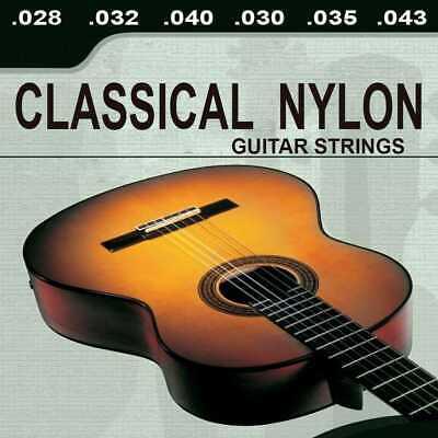 Kit Cuerdas Profesional para Guitarra Acustica Española Clasica De Nylon M03