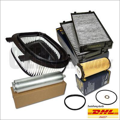 BMW X5 X6 E70 E71 xDrive30d/40d 245 PS & 306 PS Filterset Inspektionspaket 4-tlg D40 Kit