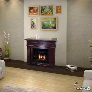 AZTEC Bio Ethanol Fireplace - BROWN Seven Hills Blacktown Area Preview