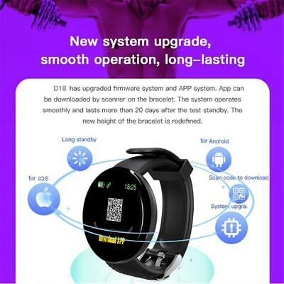 SMART WATCH SPORT FITNESS TRACKER STEP COUNTER PEDOMETER HEART RATE CALORIE