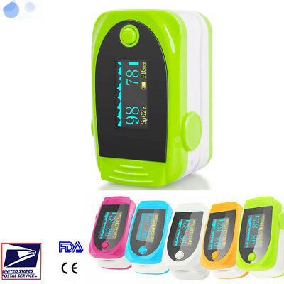 Probe Blood Oxygen Heart Pulse Rate Sensor Spo2 Finger Oximeter Monitor Alarm A