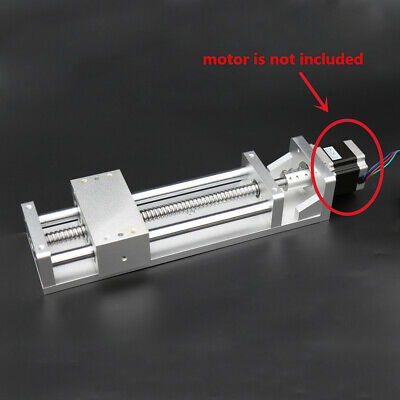 Linear Rail Sliding Table Cross Slide Module Sfu1605 W Stepper Base Xyz L200mm