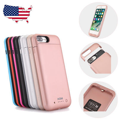 External Battery Charger Case Charging Cover Power Bank For iPhone 7/ 7 Plus /X