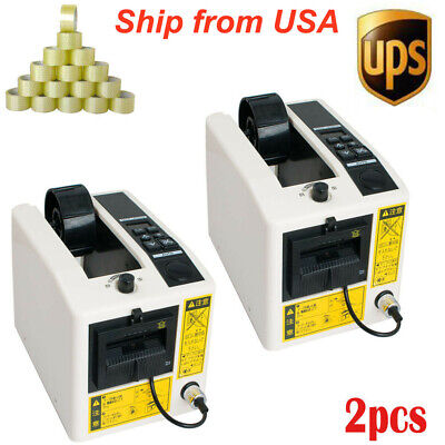 Automatic Tape Dispenserstape Cutting Machine Adhesive Tape Dispenser 2 Packs