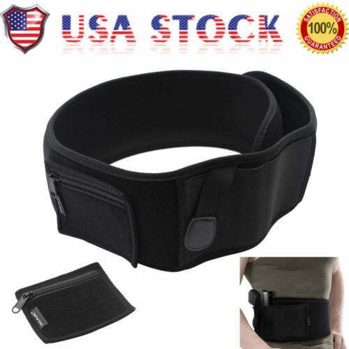 US Holster Concealed Carry Neoprene WaistBand Handgun Carry Ultimate Belly Band