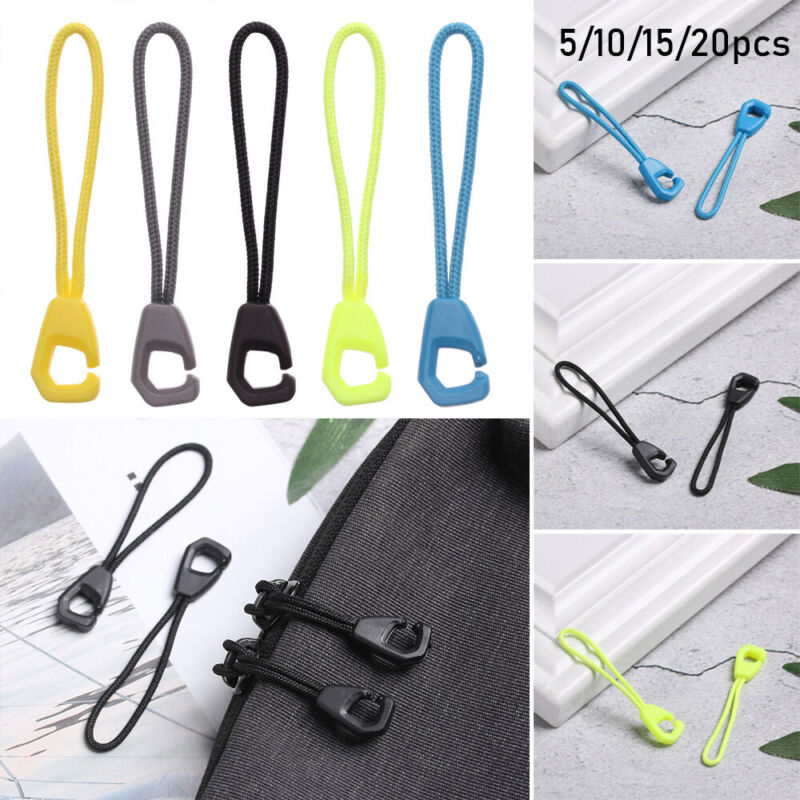 tools Zipper Pull Clips Ends Lock Zips Cord Rope Pullers Zip Puller Replacement