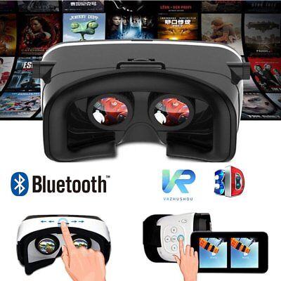 Bluetooth 3D Brille VR World Reality Movie Virtual  für Smartphone Schaltfläche