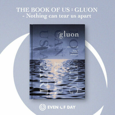 EVEN OF DAY (DAY6)- The Book of Us : Gluon CD+Photobook+Photocard+Bookmark+Gift