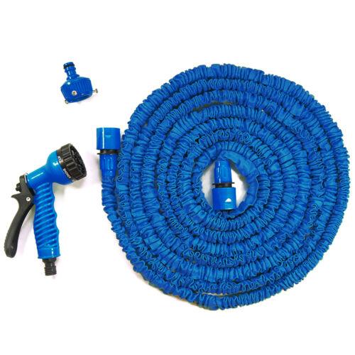 Expanding 100Ft Expandable Flexible Garden Water Hose Pipe Spray Gun Non Kink8