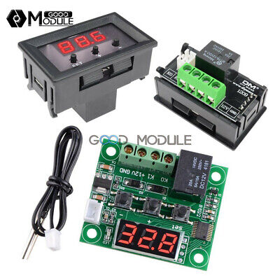 W1209 Thermostat -50-110c Temperature 12v Digital Controller Switch Sensorcase
