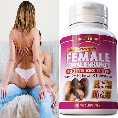 #1 BEST - FEMALE NATURAL LIBIDO ENHANCEMENT SEXUAL AROUSAL ORGANIC DESIRE