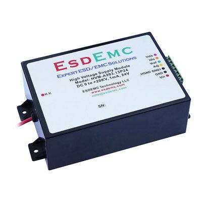 0 To 20kv Adjustable 1ma 24v High Voltage Dc-dc Power Supply Modules