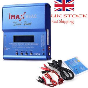 Dual Power LCD IMAX B6AC Lipo Nimh Nicd RC Battery Balance Charger Discharger aw