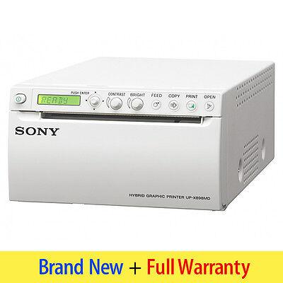 Sony Video Printer Up-x898md - Hybrid Graphic Digitalanalog Thermal Printing