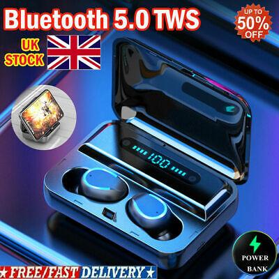 8D Stereo Mini TWS Bluetooth5.0 Headset Wireless Earbuds Headphones Earphones UK