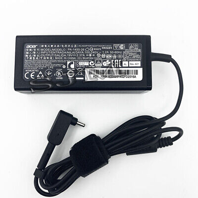 Original For Acer 45W 19V 2.37A AC Adapter Charger PA-1450-26 A13-045N2A 3.0*1.1