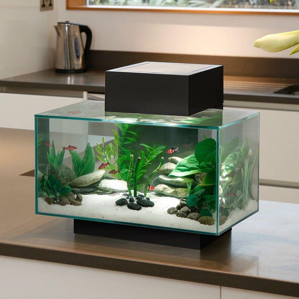 Fish tank (plus accessories)- Fluval Edge 23L
