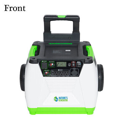 Nature's Generator - 1800W Solar & Wind Powered Portable Generator HKNGGN