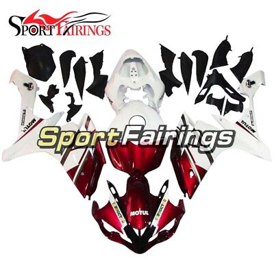 White Red Fairings For Yamaha YZF1000 R1 2007 2008 Injection ABS Body Kit