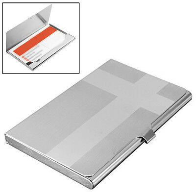 Cross Pocket Stainless Metal Business Card Holder Case Id Credit Wallet Quality