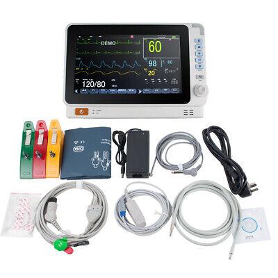 10 Medical Lcd Patient Monitor 6-parameter Icu Ccu Vital Sign Cardiac Machine