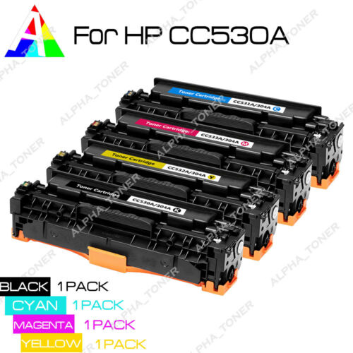 CC533A Compatible Toner Cartridge For HP ColorLaserJet CP2025 SET CC530A