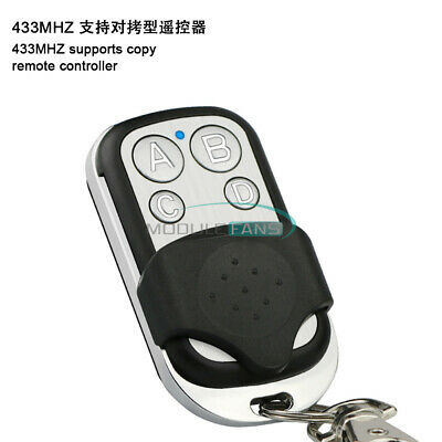 433mhz 4-channel Rf Wireless Remote Controller Support Remote Control Duplicator