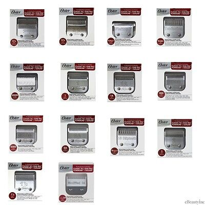 Oster 76 Blades Replacement Fits Classic 76, Model 10, Detachable Clippers