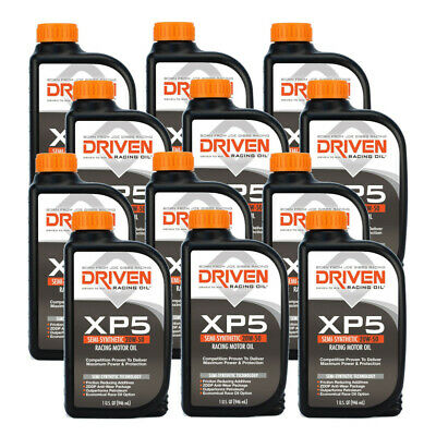 Joe Gibbs Driven 00906 XP5 20W50 Semi-Synthetic Racing Motor Oil -Case of 12 Qt