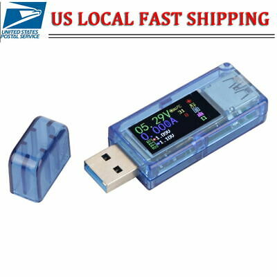 Ruideng Usb 3.0 Tester Lcd Voltmeter Ammeter Current Meter Multimeter Charger