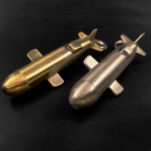 U-boat Outdoor Survival Lighter Submarine Shape Fire Starter Kerosene Keychain