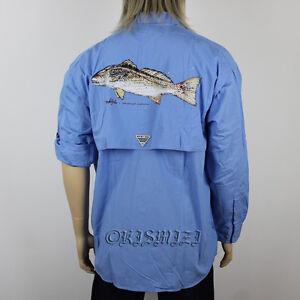 New mens columbia pfg bonehead graphic long sleeve fishing for Columbia bonehead fishing shirt
