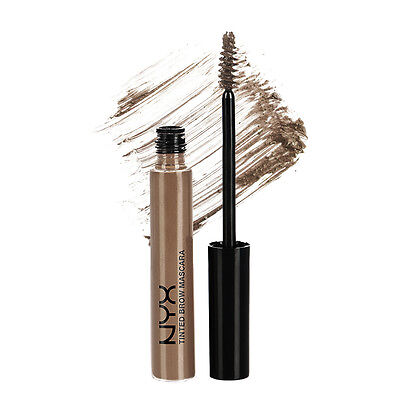 NYX Tinted Brow Mascara color TBM03 Brunette ( Ash brown ) Brand New & Sealed