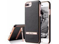 Apple Iphone 8 Plus Leather Shockproof CASE COVER