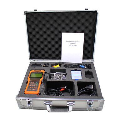 Tuf-2000h Handheld Digital Ultrasonic Flowmeter Flow Meter Standard Sensor Ss