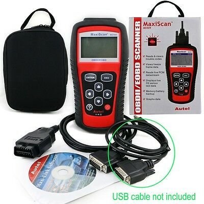 MS509 Autel Diagnostic Scanner Code Reader Car Tool MaxiScan CAN OBDII OBD2 EOBD