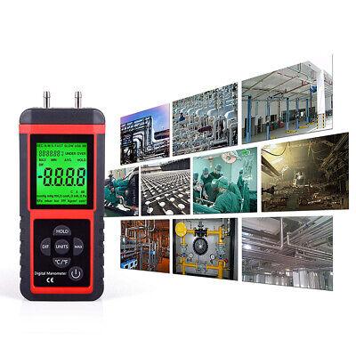 Pressure Gauge Digital Air Sensor Psi Manometer Tool Meter Air Pressure Meters