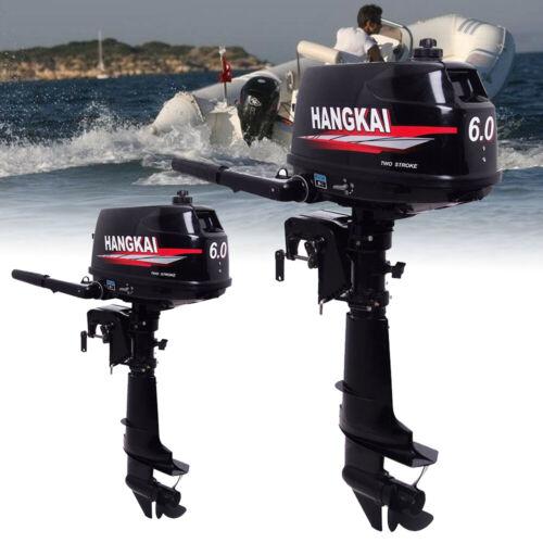 2Takt 3.6PS Hangkai Benzinmotor Außenborder Zweitakt Bootsmotor Wasserkühl DE