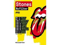 Rolling Stones Tickets - Friday May 25th - London Stadium