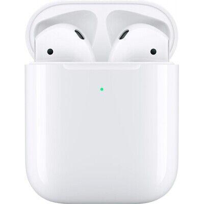 Apple AirPods 2 + Wireless Charging Case White Qi Lautsprecher MRXJ2ZM/A WOW! Weiße Bluetooth