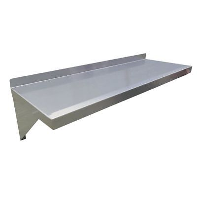 Hubert Wall Shelf 18 Gauge Stainless Steel - 60 L X 12 W