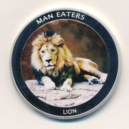 "2010 BANK OF UGANDA 100 SHILLINGS- LION ""MAN EATERS"" COIN-NICE!! SHIPS FREE!"