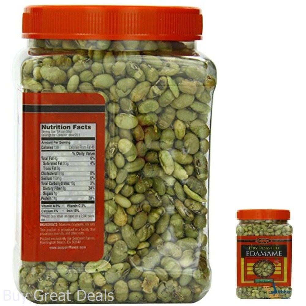 Healthy Snack Food Dry Roasted Edamame