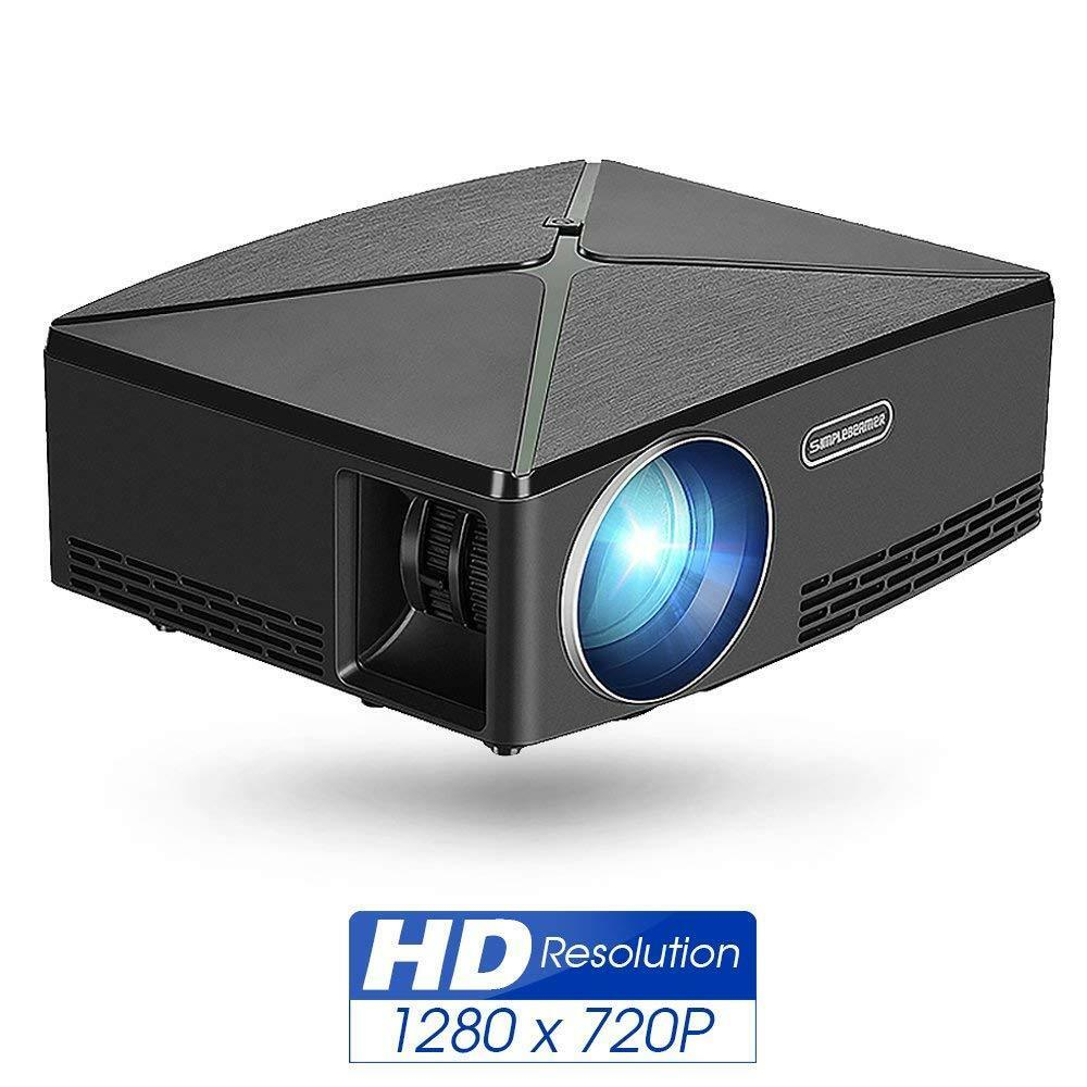 2200 Lumens LED Projector HD 1080P  VGA HDMI TV Video Home Cinema Theater USB