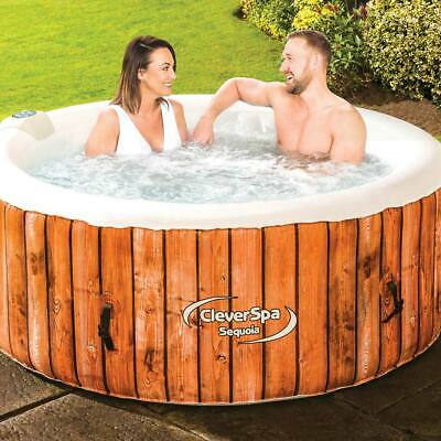 😍CLEVERSPA Sequoia Inflatable 4-person Hot Tub Spa BRAND NEW! *FREE DELIVERY*